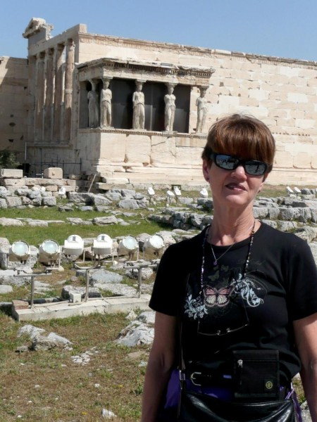 Del Sol at the Temple on the Acropolis