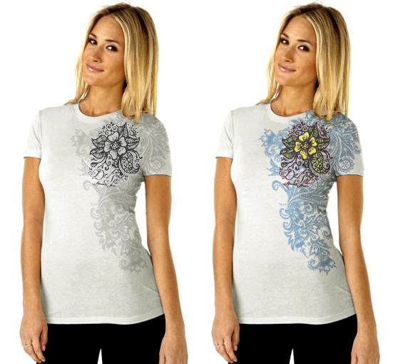 Del Sol Women's Color-Changing Shirt