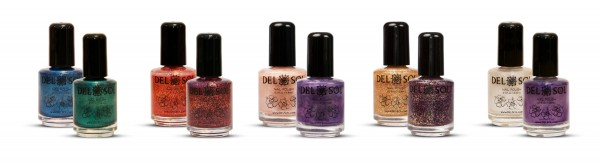 Color Changing Nail Polish by Del Sol - New Shades for 2012