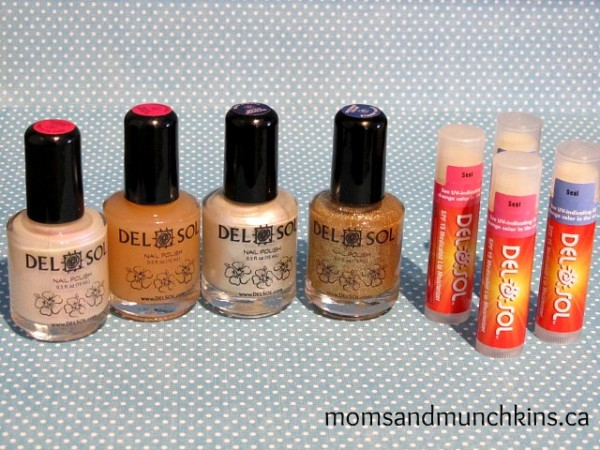Moms and Munchins Reviews Del Sol Nail Polish