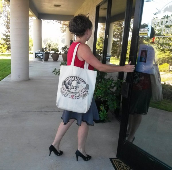 Spotted Del Sol Tote Bag in Cameron Park, CA