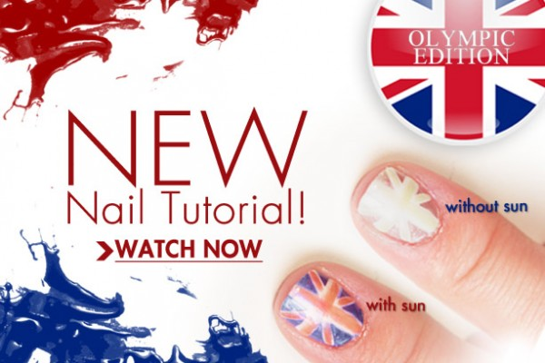 Olympic Color Change Nail Tutorial
