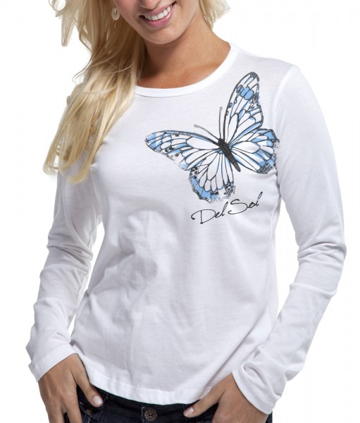Color Changing Watercolor Butterfly Shirt