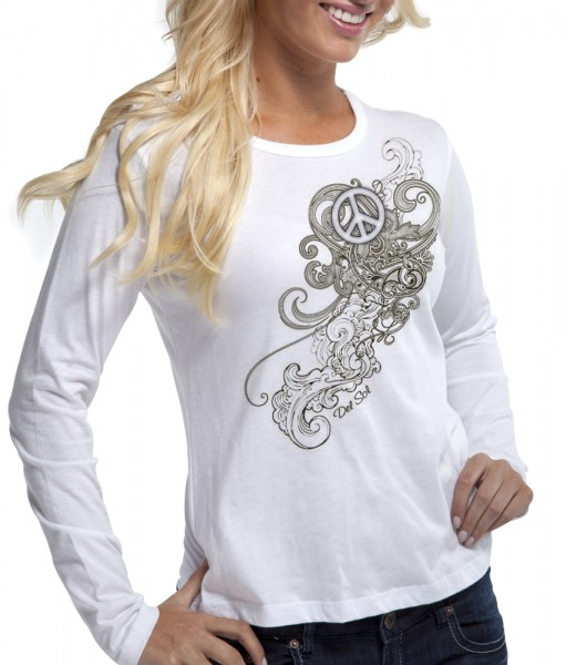 Peace & Paisley Color Changing Shirt indoor