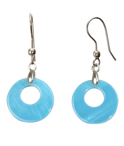 color-changing earrings by del sol - outdoor