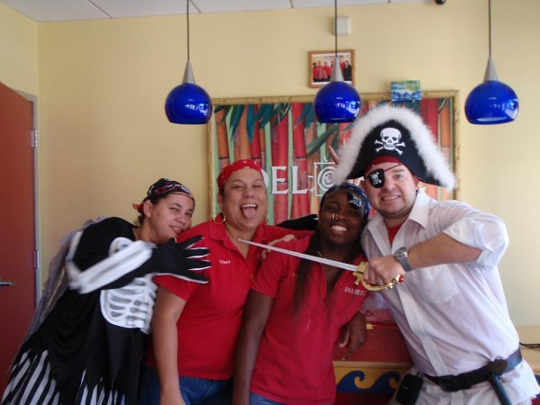 color-changing pirate gear in Grand Cayman