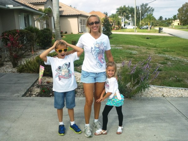 sorensen family powered by del sol color changing tees