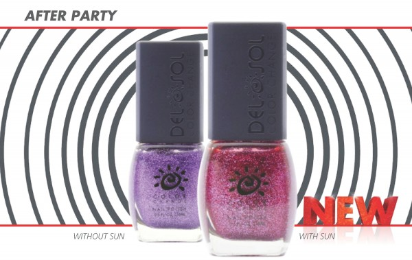 del sol color changing nail polish 2013 - after party