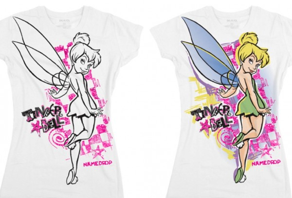 Del Sol Disney Color-Changing Shirt Design (Tink Neon)
