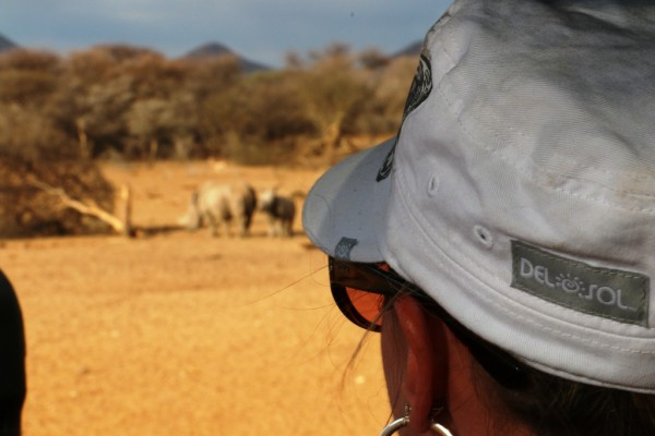 Del Sol donation & safari in Africa, color change hat