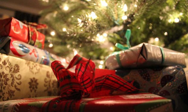 Christmas presents shown in Next Stop Magazine