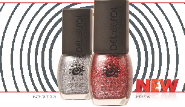 Del Sol Fire & Ice Nail Polish Winter 2014