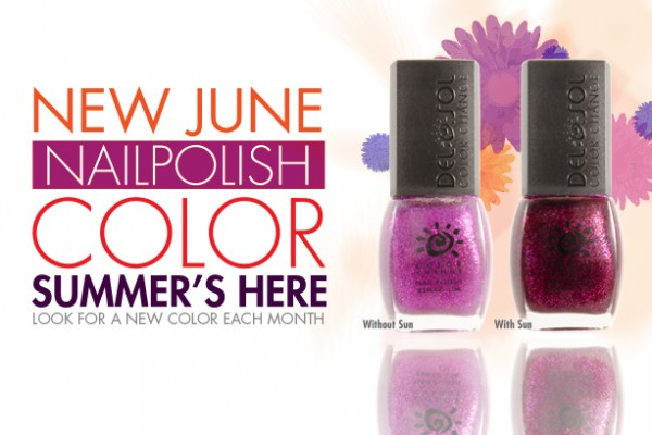 Del Sol Nail Polish of the Month for June, Summer's Here