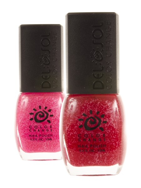 Get Your Pink On - Del Sol Color Change Neon Polish