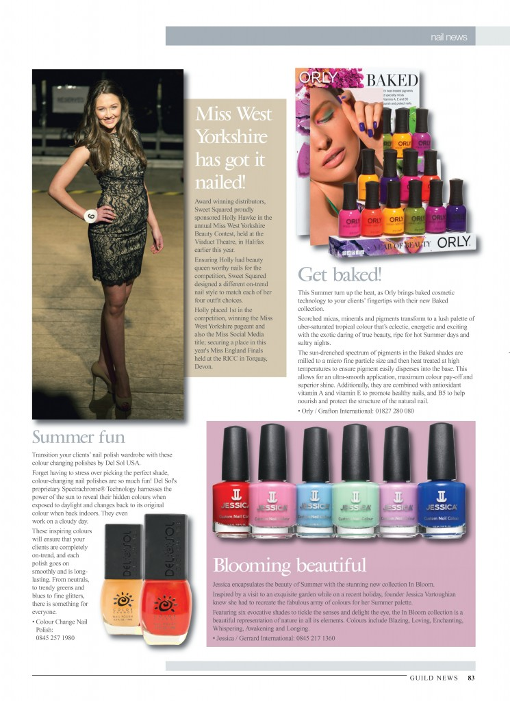 Guild News - Del Sol Nail Polish - P83 July 2014