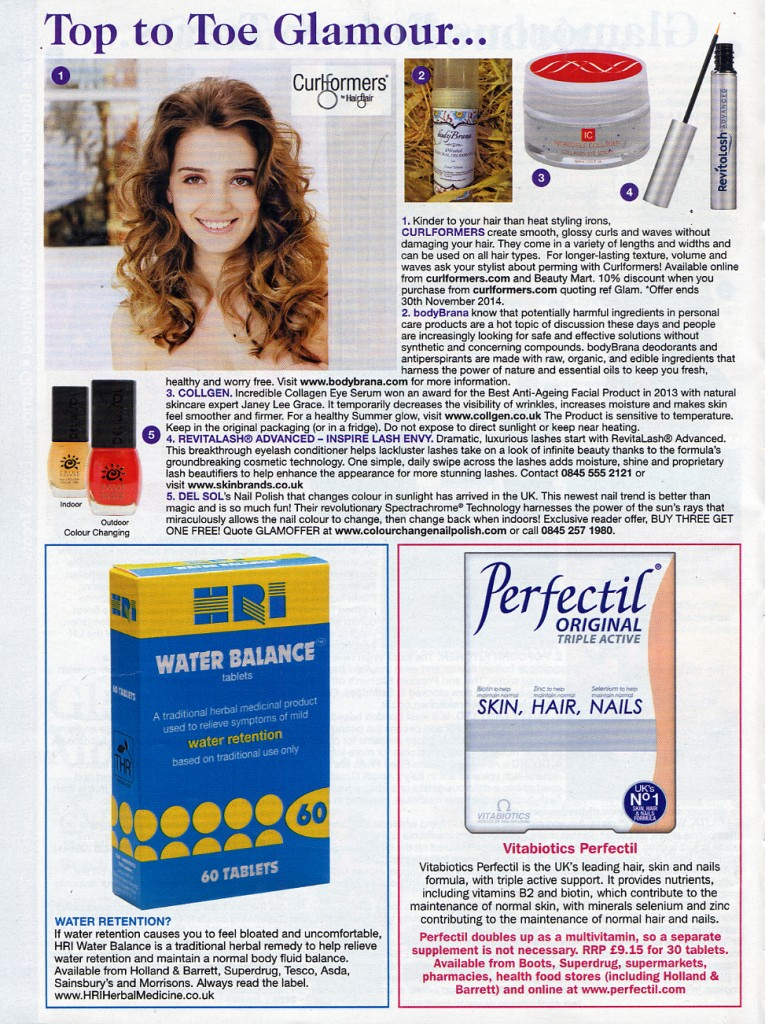 Del Sol Color-Changing Nail Polish Featured in Glamour Magazine ...