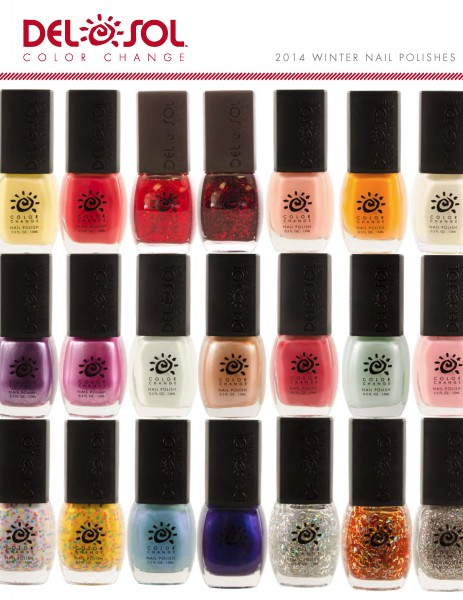 Del Sol Introduces Winter Nail Polish Collection - 15 New