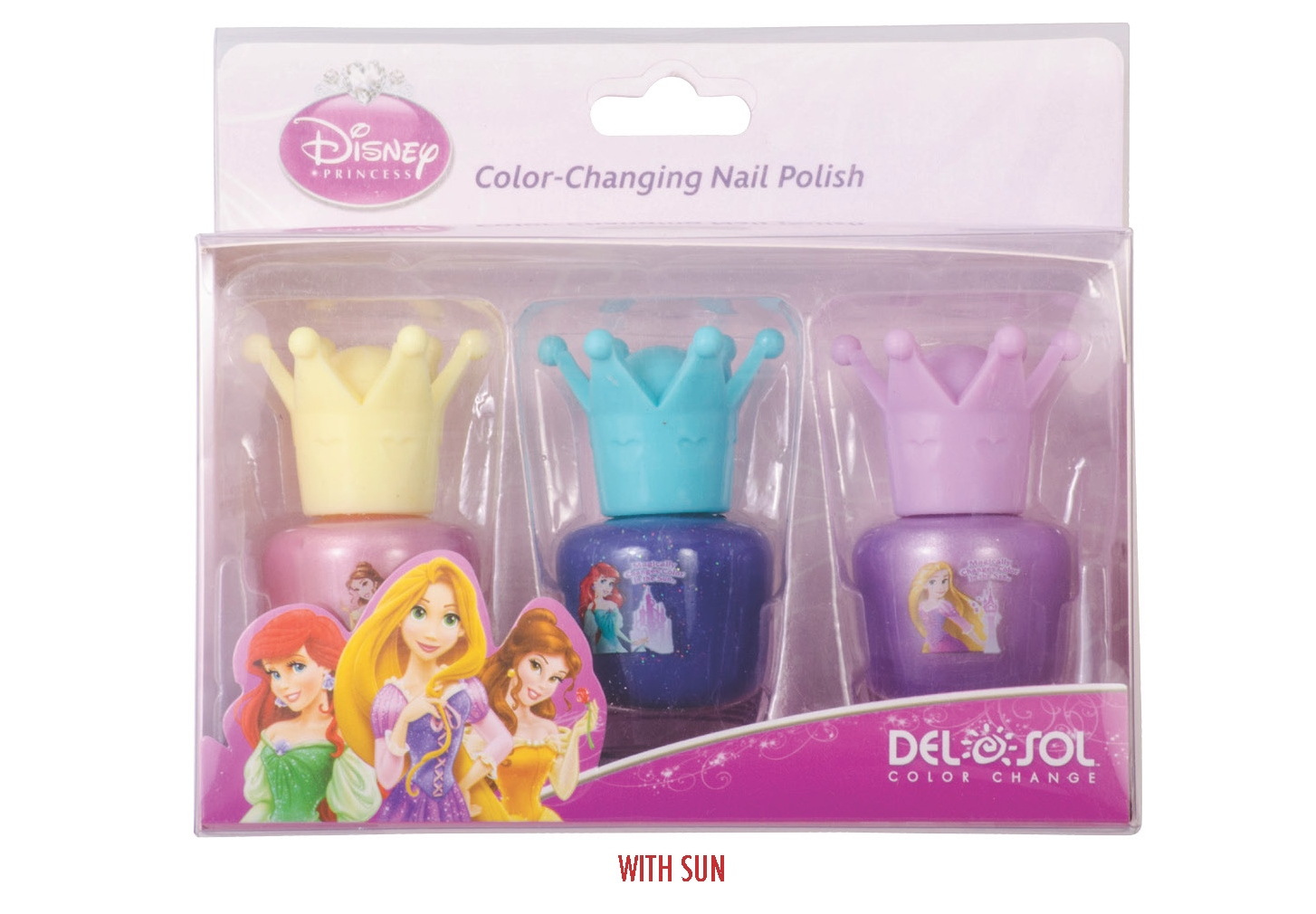 Del Sol Launches New Disney Nail Polish Accessories - Del Sol