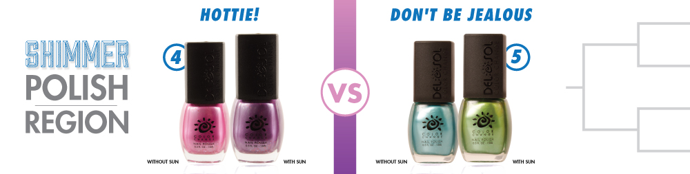 Hottie! VS Don't Be Jealous Color-Changing Nail Lacquer