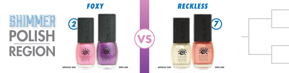 Foxy VS Reckless Color-Changing Nail Lacquer