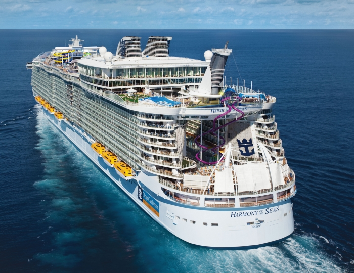 royal caribbean unveils first look at the tallest slide at sea del sol